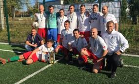 Перший тур міні-футбольного чемпіонату Василькова!
