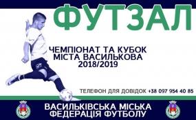 Цьогорічний Новорічний Кубок міста Василькова по футзалу стартував 2 грудня 2018 року!